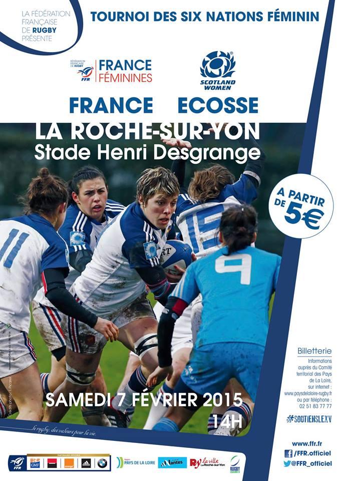 Tournoi de rugby f minin vendee mag for Accessoire piscine la roche sur yon