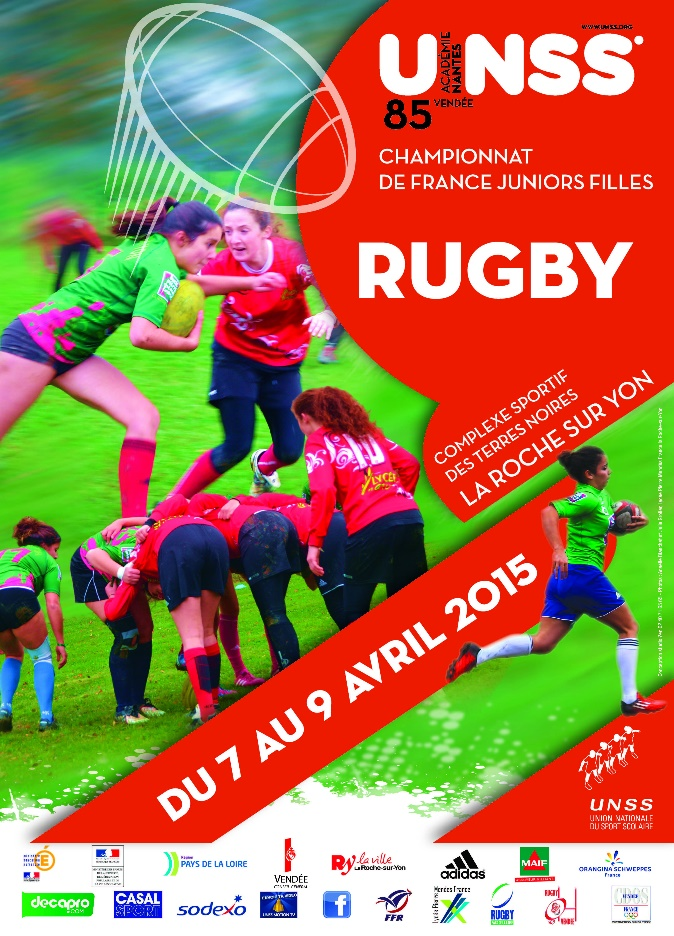 championnat de france unss de rugby filles vendee mag. Black Bedroom Furniture Sets. Home Design Ideas