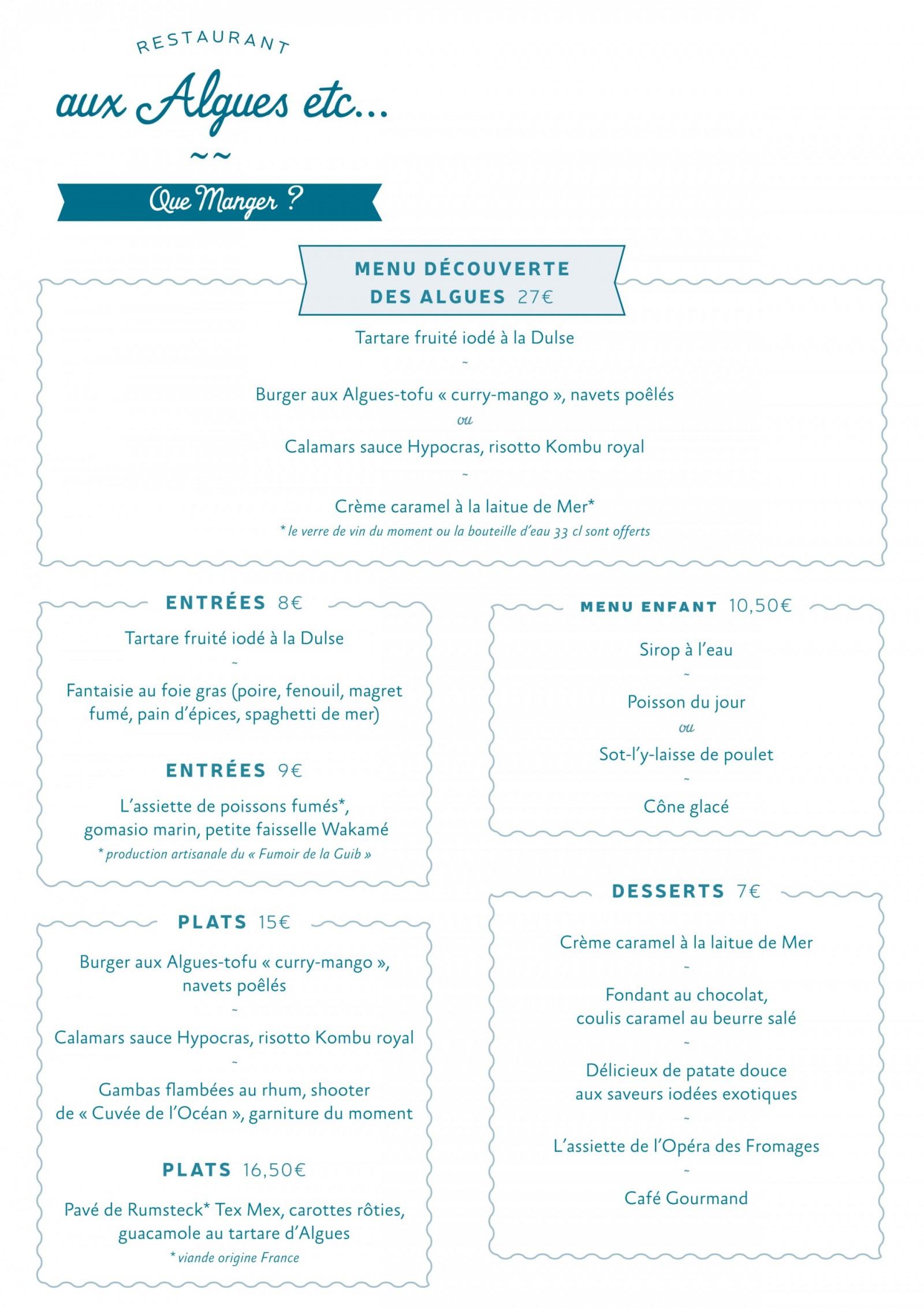 vendee mag restaurant la roche-sur-yon aux algues etc carteMenu-fevrier2016