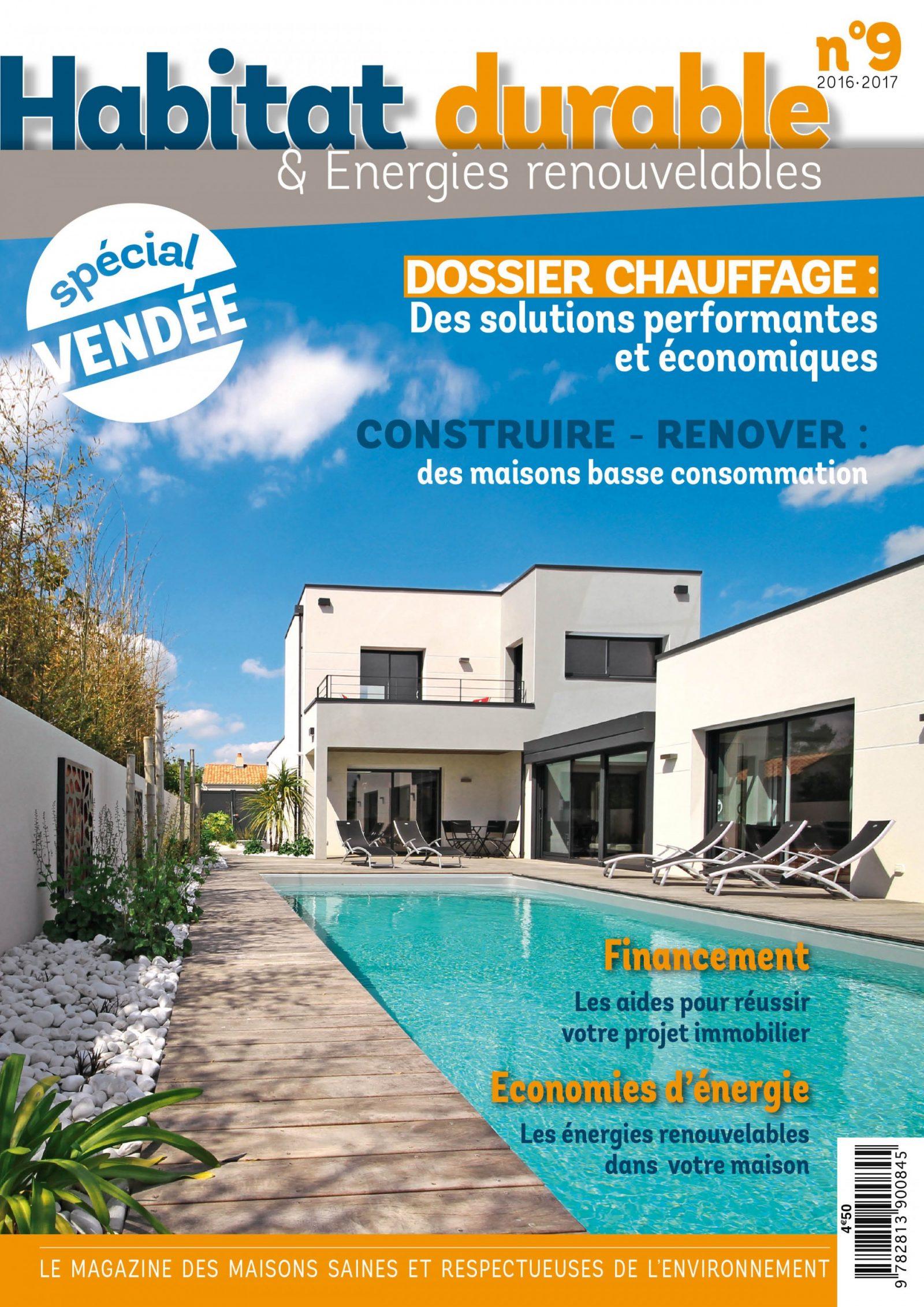 Nouveau magazine ! Habitat Durable 2016/2017