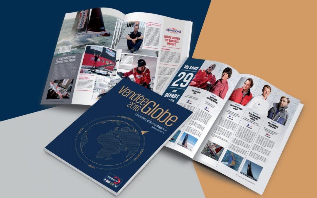 Lancement du Vendée Globe Magazine par les Editions Offset 5.