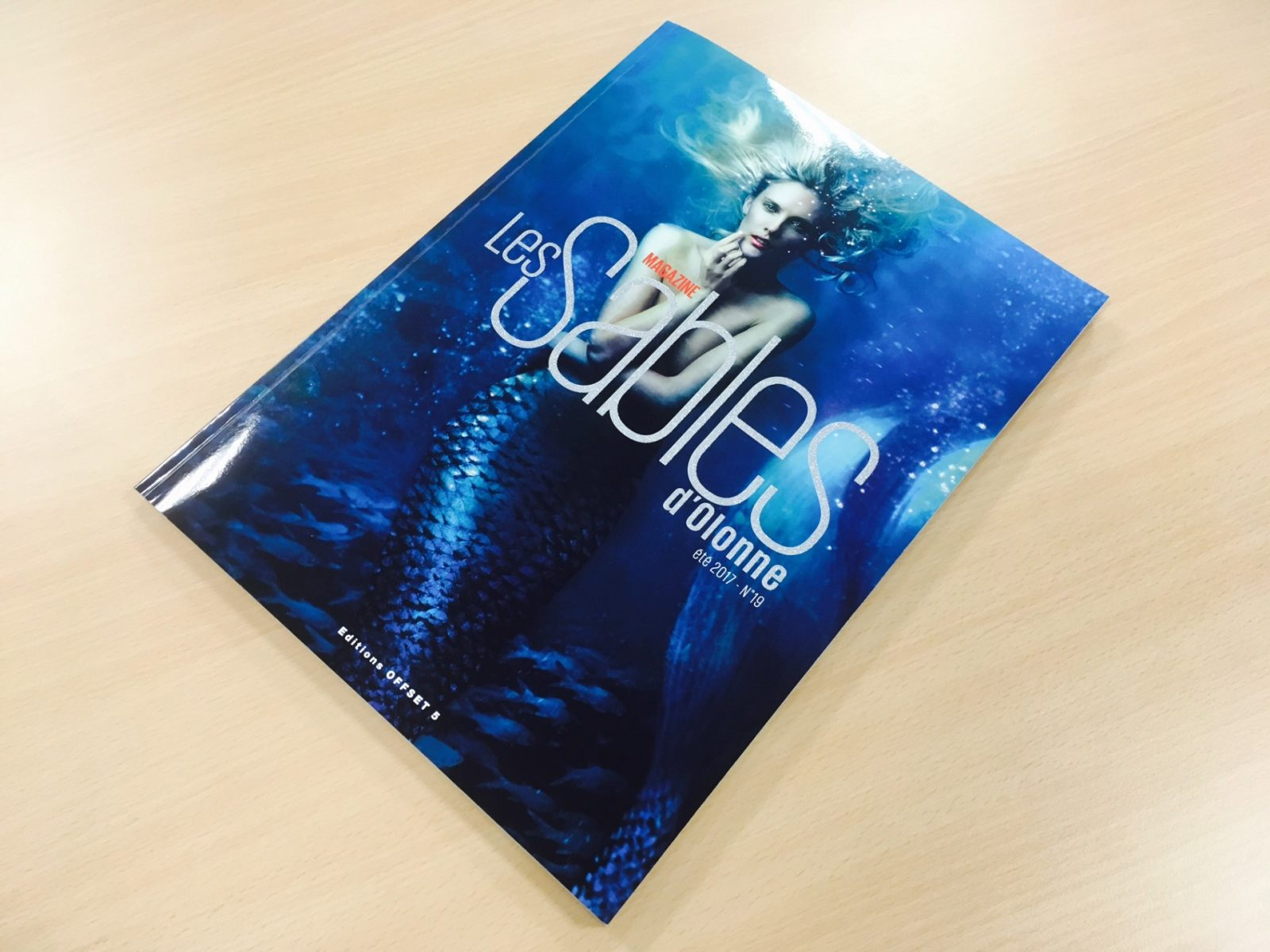 La 19ème Editions «Les sables d'Olonne Magazine» fait sa sortie !