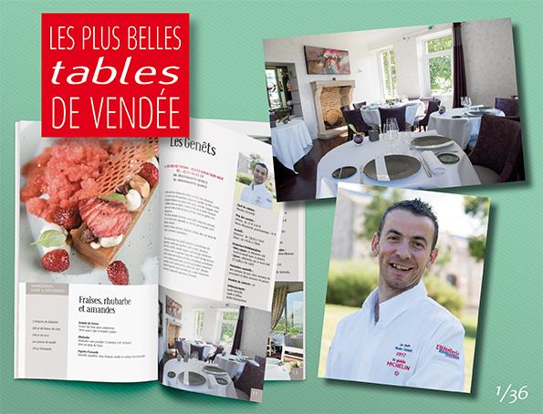Partez à la conquête des Plus Belles Tables de Vendée avec les Editions Offset 5…