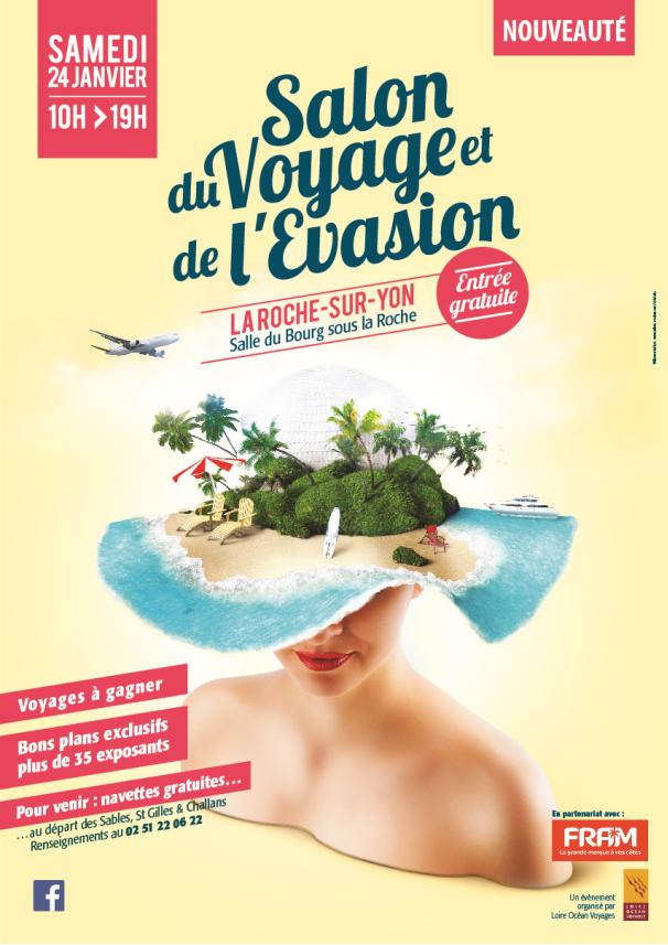 Salon du voyage et de l 39 vasion gratuit vendee mag for Salon voyage