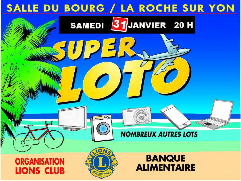 Super loto du lion 39 s club vendee mag for Accessoire piscine la roche sur yon