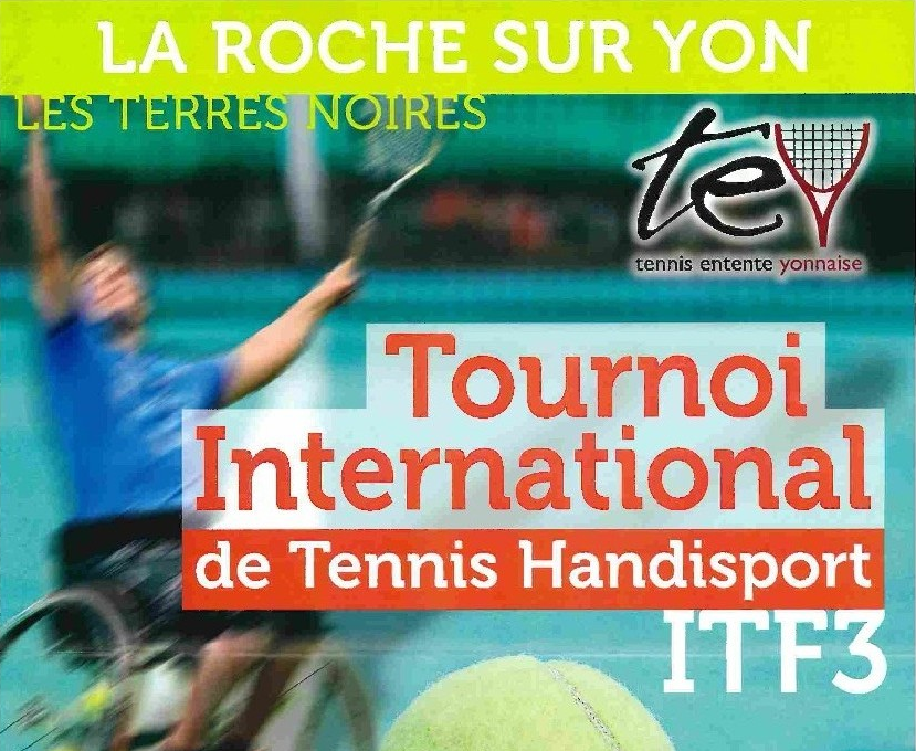 tournoi international de tennis handisport vendee mag. Black Bedroom Furniture Sets. Home Design Ideas