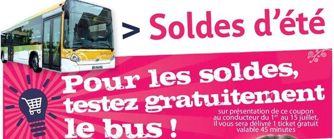 pour les soldes testez gratuitement le bus vendee mag. Black Bedroom Furniture Sets. Home Design Ideas