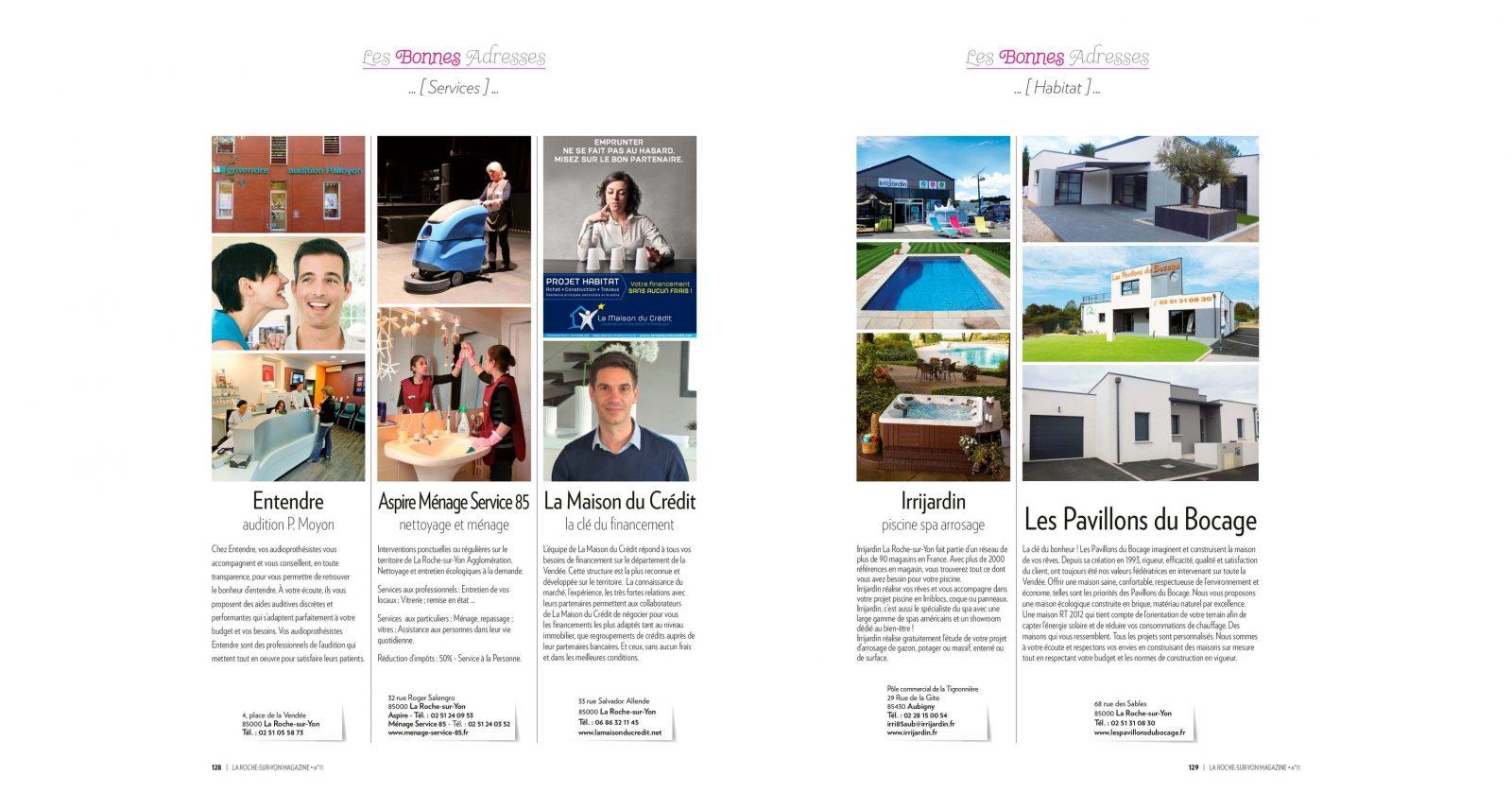 la roche sur yon magazine n 11 vendee mag. Black Bedroom Furniture Sets. Home Design Ideas