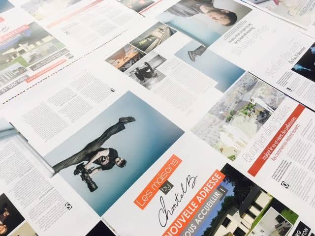 Et hop, Impression terminée de la 12ème édition de La Roche sur Yon Magazine !! …