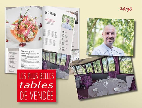 Les Editions Offset 5 continuent de vous faire découvrir  LES PLUS BELLES TABLES…