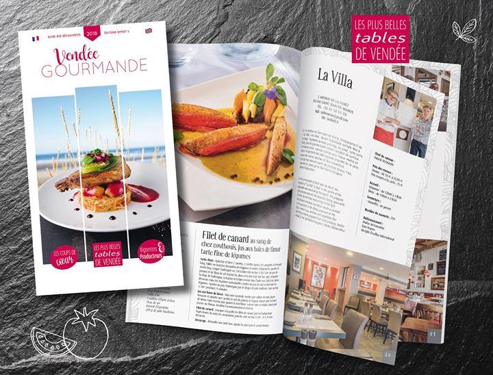 Parcours gourmand sur les routes de Vendée… Saint-Jean-de-Monts, La Villa – Rest…