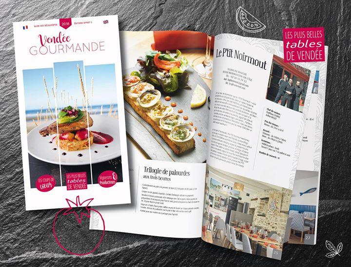 Parcours gourmand sur les routes de Vendée…  Sur l'île de Noirmoutier, Le P'tit …