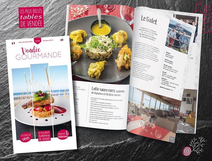 Parcours gourmand sur les routes de Vendée…  A Brétignolles-sur-Mer, LE GALET  L…