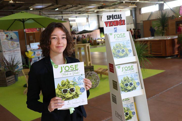 Les Editions Offset 5 au Salon du Bien Être à La Roche-sur-Yon. Le magazine J'OS…