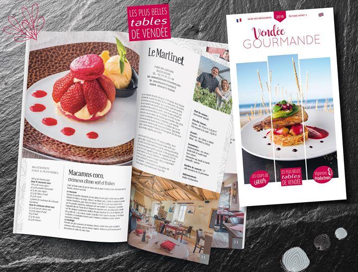 Parcours gourmand sur les routes de Vendée…  A Bouin, Restaurant Le Martinet  Dé…