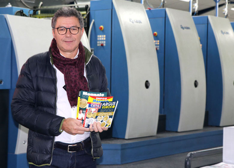 Imprimer un magazine mensuel – Témoignage client des Éditions de la Monnaie